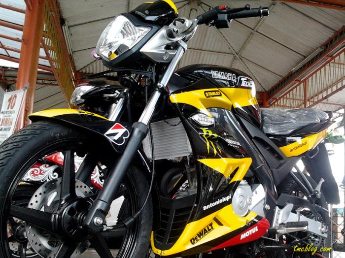New Vixion ada livery motogp 2014! dominan putih lebih